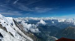 Bossons Panorama (tucker.ralph) Tags: bossons glacier chamonix ice snow mountains sky cloud