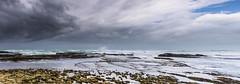 Sun and clouds (hjuengst) Tags: clouds ocean indianocean panorama pano wave dehoopnaturereserve koppiealleen beach southafrica arniston