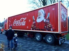 Coca cola supply at Thialf, Heerenveen (Alta alatis patent) Tags: coca cola truck red supply heerenveen thialf