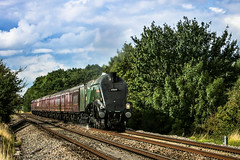 A4 1 (1 of 1) (steamnut777) Tags: steam a4 unionofsouthafrica 60009 clouds wadborough worcestershire