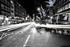 Get the London look (Paul Wrights Reserved) Tags: cab london streetphotography blackcab taxi blacktaxi street light lighttrails lightburst traffic cars landscape christmas londonstreets westend