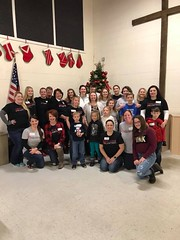 Thanksgiving at Community Hope Center. JLGA donated desserts and volunteered to serve and deliver meals to members of our community.