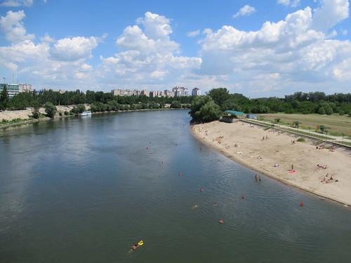 Dniester River Beach