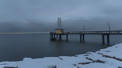 Brant Street Pier (sspike@rogers.com) Tags: winter snow pier landscape steverossi lake ontario dawn reattoseethiswonderfulphotoagainmerrychristmasandhappynewyear robertoimlookingforwardtomoreofyouroutstandingphotographsin2018 atreattoseethiswonderfulphotoagainmerrychristmasandhappynewyear