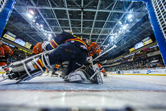"Kansas City Mavericks vs. Colorado Eagles, December 17, 2017, Silverstein Eye Centers Arena, Independence, Missouri.  Photo: © John Howe / Howe Creative Photography, all rights reserved 2017. • <a style=""font-size:0.8em;"" href=""http://www.flickr.com/photos/134016632@N02/38255783145/"" target=""_blank"">View on Flickr</a>"