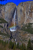 Yosemite Falls (CaptSpaulding) Tags: yosemitevalley california unitedstates canon 6d yosemitenationalpark yosemite nationalpark tree trees sky landscape valley mountain rock rocks nature color contrast halfdome bridalveilfall cloudsrest elcapitan waterfall water cliff yosemitefalls