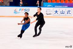 Vanessa James, Morgan Ciprès (asveri) Tags: figureskating isufigureskating skating practice gpfrance grandprix ifp2017 internationauxdefrance
