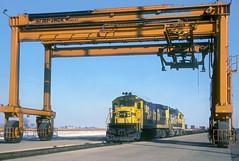 AT&SF B23-7 6386 (Chuck Zeiler) Tags: atsf b237 6386 railroad ge locomotive wolcott chuckzeiler chz