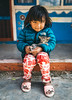 Girl and the cat (Eaglewood Photography) Tags: nepal travel girl cat nepali village locals