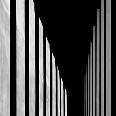 αθήνα (caeciliametella) Tags: caeciliametella abstract astratto black white bn bw shadow shadows ombra ombre lorrainekerr square 11 athens national archaeologicalmuseum portico light shade αθήνα μουσείο museo αρχαιολογικόσ omonoia
