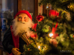 Have a very Merry Christmas my flickr-friends (m3dborg) Tags: santa claus christmas holiday tree beard interior indoors skis rods