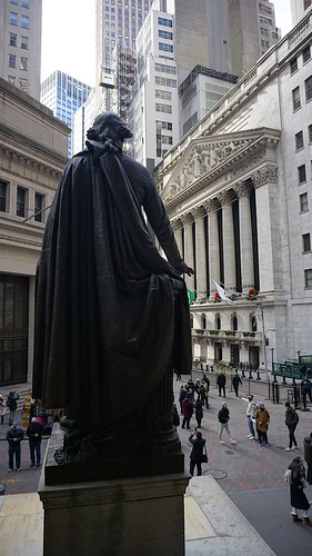 View of the New York Stock Exchange