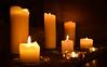 Illuminating St Michael's (littlestschnauzer) Tags: candlelight church st michaels emley uk illuminating glow christmas advent 2017 december xmas candles flame flicker light pillar windowsill