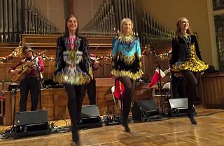 Three Murray Irish Dancers