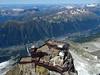 On top of the Aiguille du Midi. (elsa11) Tags: aiguilledumidi hautesavoie rhonealps chamonix montblancmassif leplandaiguille alps alpen mountains france frankrijk panorama aiguillesrouges lindex lebrevent explore