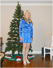 22 December 2017 (Jamie_Ann_2018) Tags: jamieann crossdresser transgender transvestite androgynous tgirl tgurl queer cd tv tg effeminatemale bluedress highheels 同性愛者 กะเทย