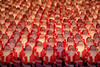 The Santa Clones (Ian Sane) Tags: ian sane images thesantaclones2017 illuminated plastic santa figures empireplasticcorp circa1968 350 piece ridiculous collection chris willis downtown portland oregon morrison street merry christmas canon eos 5ds r camera ef70200mm f28l is usm lens