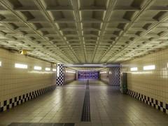 Underpass (sander_sloots) Tags: schiedam underpass centrum station concrete patterns modernist architecture modernisme vandergaast architect functionalism onderdoorgang tunnel patronen beton