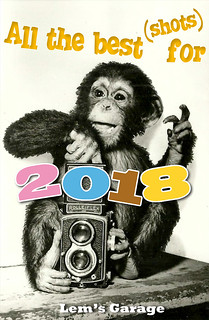 all the best for 2018! • meilleurs voeux pour 2018!
