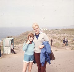Lands End Cornwall England Uk Family holiday Photo's by Alf, Shelagh & Lynn Jefferies 1970's (Photos by Alf Jefferies) Tags: lands end cornwall england photos by alf lynn shelagh jefferies 1970s colour positives mum dad daughter
