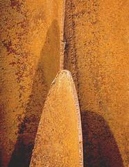 En pleine croissance... (mcastonguay60) Tags: montréal québec canada rouille sculpture détail