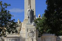 Cadix (hans pohl) Tags: espagne andalousie cadix monuments statues art architecture arbres trees