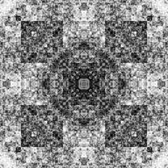 0171232325 (michaelpeditto) Tags: art symmetry carpet tile design geometry computer generated black white pattern