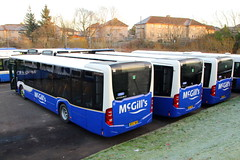 Citaro City (J3351/2/3) (Fraser Murdoch) Tags: mcgills bus service 38 johnstone depot miliken park renfrewshire euro 6 mercedes benz mb o295 citaro bf67 wkh wkk wkl bf67wkh bf67wkk bf67wkl greenock inverclyde transport investment vehicle
