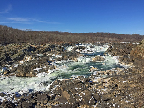 Great Falls of the Potomac River, Maryland side