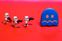 Chasing the January blues away (SkyFireXII) Tags: pacman 52weeksof2018 starwars januaryblues stormtroopers ghost lego