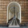 Cadix (hans pohl) Tags: espagne andalousie cadix streets rues arcs lampadaires architecture