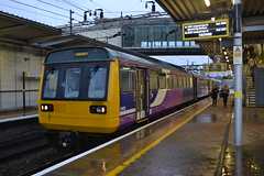 Northern Pacer 142037 (Will Swain) Tags: 27th september 2017 liverpool south parkway station train trains rail railway railways transport travel uk britain vehicle vehicles country england english merseyside northern pacer 142037 class 142 037