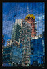 Reflected Skyscrapers (Ilan Shacham) Tags: abstract reflection manhattan city building skyscraper construction windows colorful fineart fineartphotography urban ny nyc newyork usa