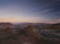 Old as the hills (baro-nite) Tags: capitolreef utah sunset landscape geology mediumformat film e6 fujifilm velvia rvp50 pentax 645n smcpentaxfa645zoom14545~85mm epsonv700 affinityphoto