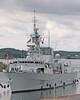 HMCS TORONTO Entering Lock (Roger Litwiller -Author/Artist) Tags: hmcstoronto cpf canadianpatrolfrigate stlawrenceriver stlawrenceseaway rogerlitwillercollection iroquoislock rcn royalcanadiannavy
