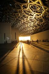 Abu Dhabi, United Arab Emirates (gstads) Tags: abudhabi uae unitedarabemirates arabia arabian museum architecture line lines geometry geometric louvre