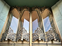 Oakland Deco (kimbar/Thanks for 3 million views!) Tags: oakland california building entry artdeco metal glass
