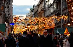 christmas time (poludziber1) Tags: city colorful cityscape color colorfull capital clouds street streetphotography skyline sky light christmas people urban yellow travel blue beograd belgrado belgrade srbija serbia