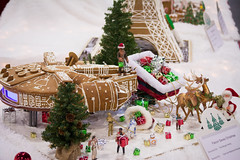 star wars at christmas (raspberrytart) Tags: festivaloftrees christmas gingerbread gingerbreadhouse gingerbreadcookie cookie candy decorating nikon d7100