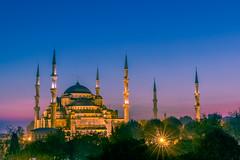Blue Mosque - Istanbul (lucien_photography) Tags: istanbul turquie tr religion turkey architecture sunrise sky landscape cityscape mosque bluemosque sultanahmedmosque sultan ahmed