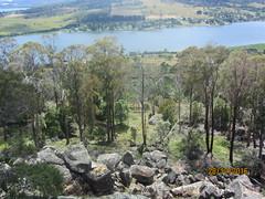 Looking across Rocks and Trees, River Tamar (d.kevan) Tags: views lookouts rocks rivertamar tasmania bradyspoint australia countryside tamarvalley