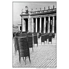 319 ro piazza spietro (antonio cuzzuol) Tags: chairs rome piazza sanpietro