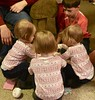 Our Gift (donna_0622) Tags: gift opening triplets cousins christmas nikon d750