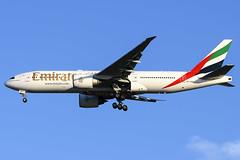 A6-EWA B772LR EMIRATES YBBN (Sierra Delta Aviation) Tags: emirates boeing boeing777 b772lr brsibane airport ybbn a6ewa