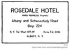 1913 rosedale hotel (albany group archive) Tags: albany ny history 1913 rosedale hotel central avenue ward hennessy early 1900s old historical vintage picture photo photograph