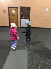 """Paul with His Friend Brooklyn at Ice Skating • <a style=""""font-size:0.8em;"""" href=""""http://www.flickr.com/photos/109120354@N07/39360055592/"""" target=""""_blank"""">View on Flickr</a>"""