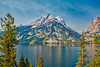 The Mountain at Jenny Lake (keycmndr) Tags: grandtetons hdr lakes landscape mountains