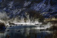 owyhee river-12-31-17-19 (Ken Folwell) Tags: river water oregon desert steam snow winter