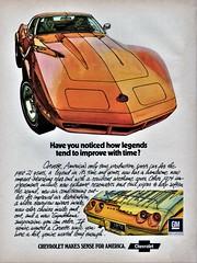 1974 Chevrolet Corvette (aldenjewell) Tags: 1974 chevrolet corvette ad