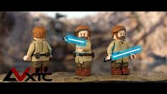 LEGO Obi-Wan Kenobi - ROTS (AndrewVxtc) Tags: lego star wars custom jedi master obi wan kenobi revenge this rots episode 3 ep3 sculpted painted toy photography andrewvxtc